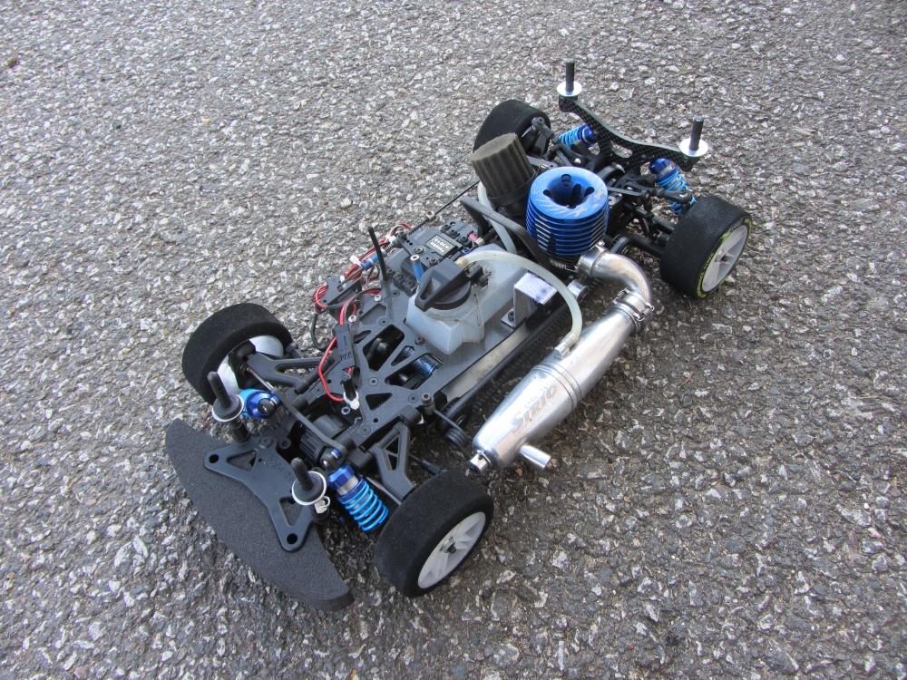 Chassis Kyosho V-One RRR Evo2