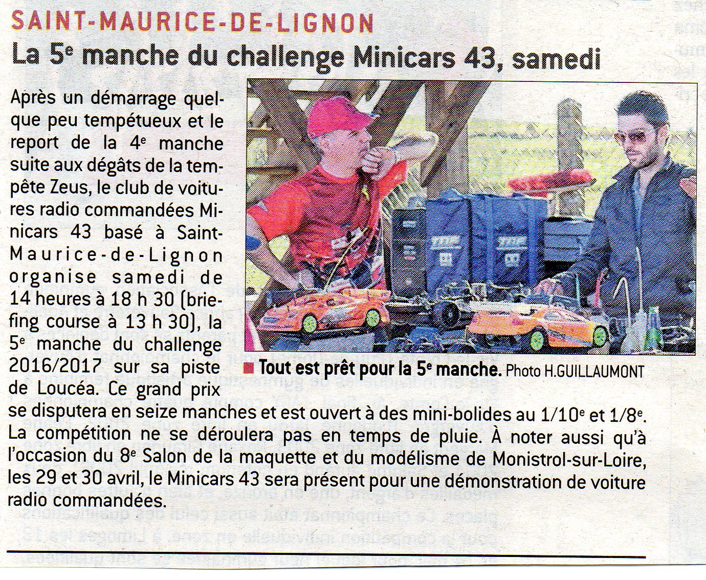 Article La Tribune 14-04-2017