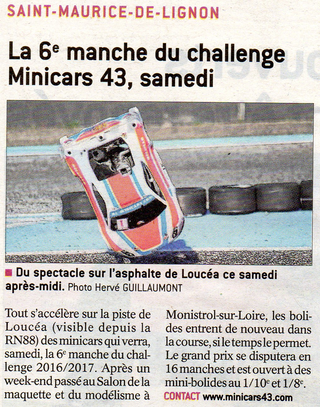 Article La Tribune 05/05/2017