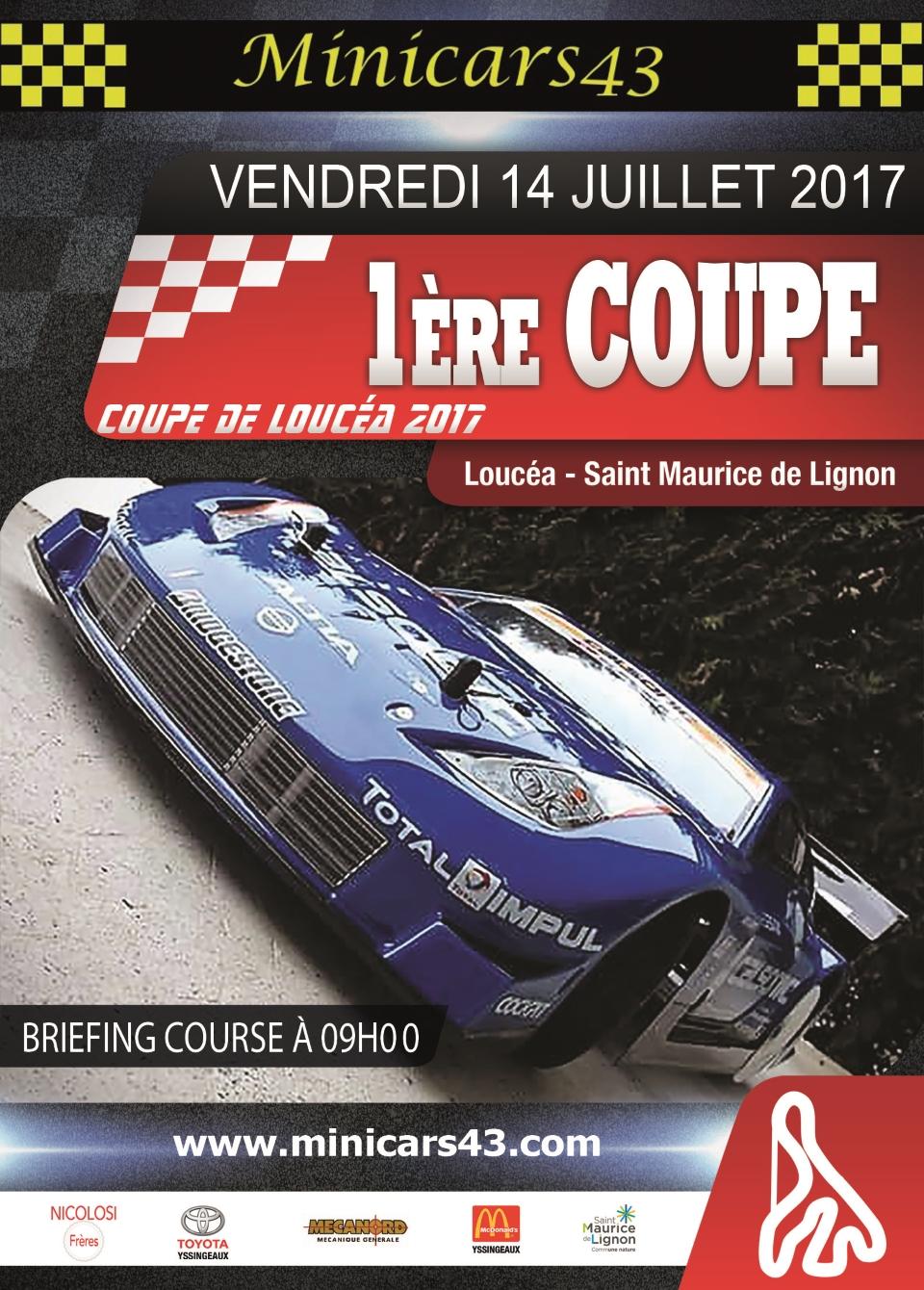 Affiche Coupe de Loucéa 2017