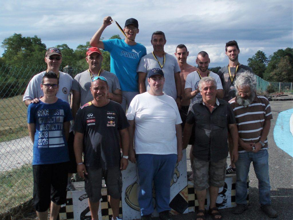 Participants - 12ème Endurance - 05/08/2017