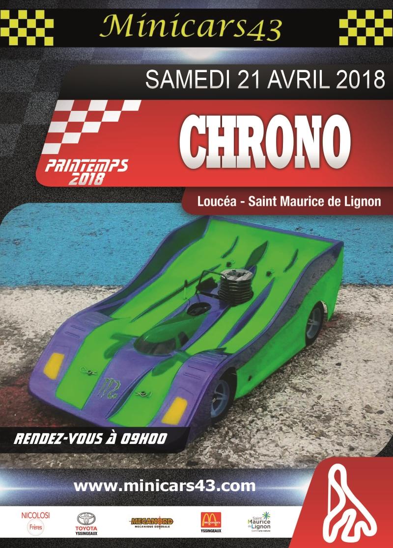 Affiche Séance chrono 21/04/2018