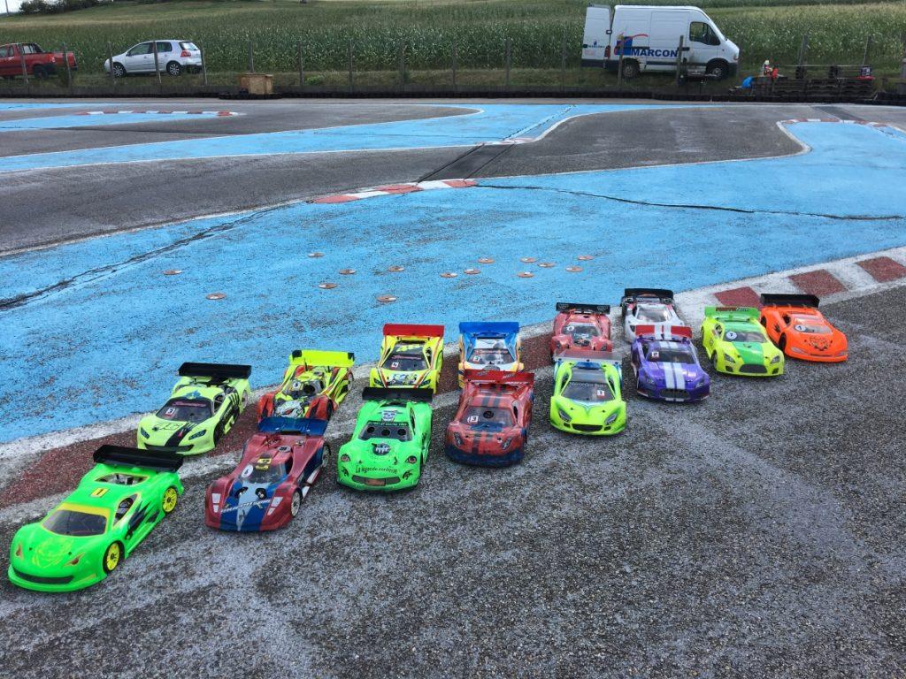 1er Mini GP - 1er septembre 2018 - Les voitures 1