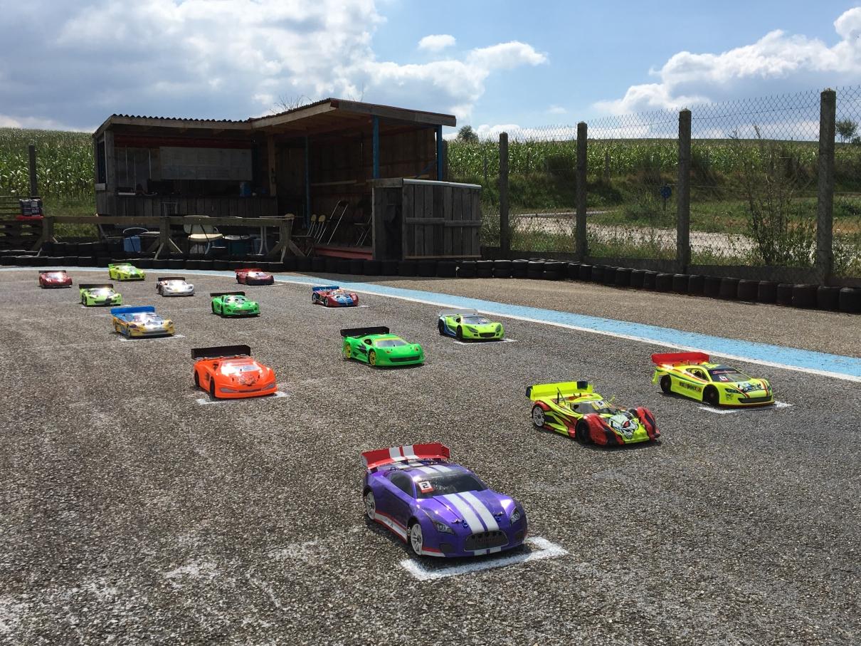 1er Mini GP - 1er septembre 2018 - Les voitures 2