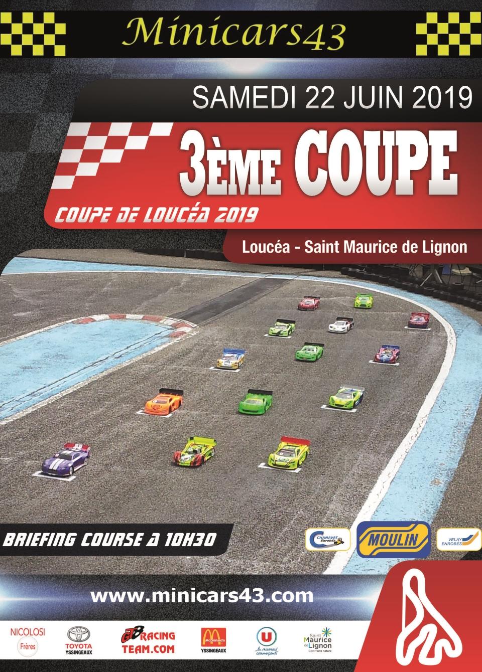 Affiche Coupe de Loucéa 2019