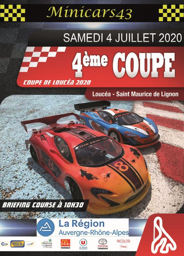 Affiche Coupe de Loucéa 2020