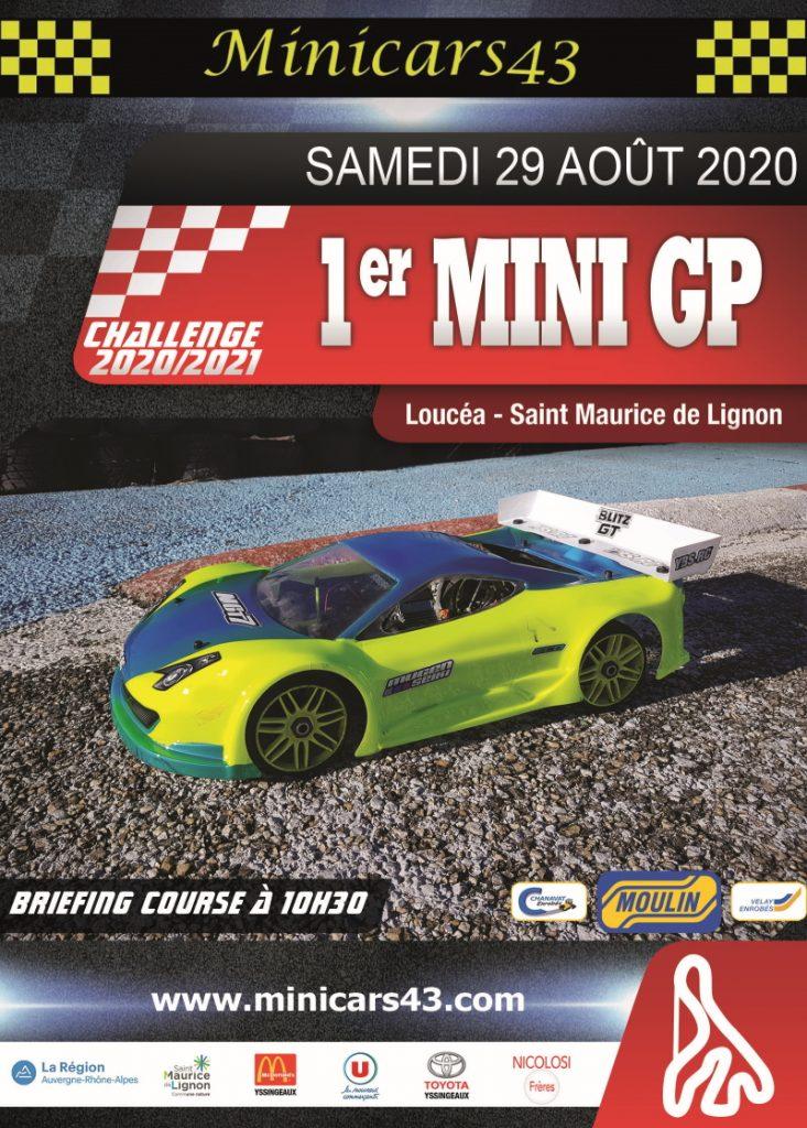 Affiche 1er Mini GP 2020-21