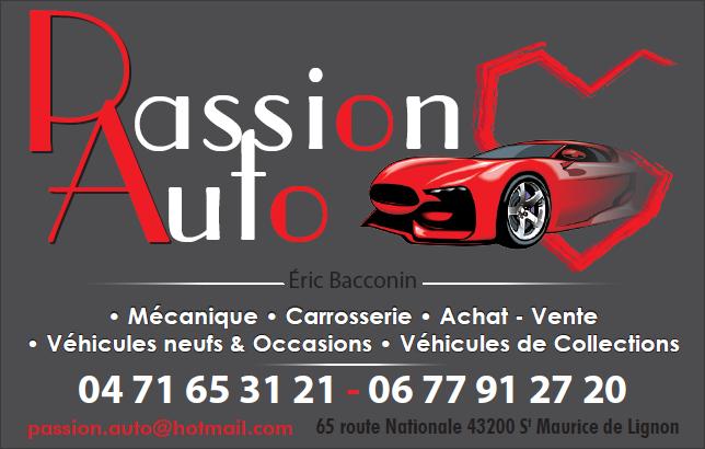Logo Passion Auto
