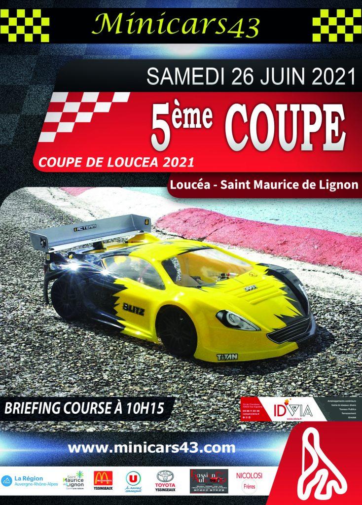 Affiche Coupe de Loucéa 2021