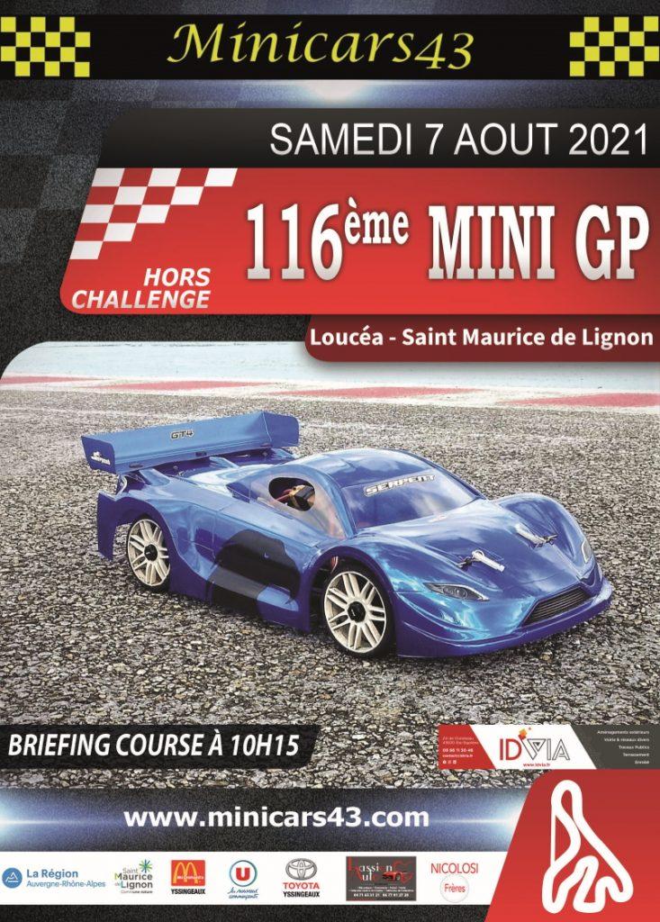 Affiche 116ème Mini GP