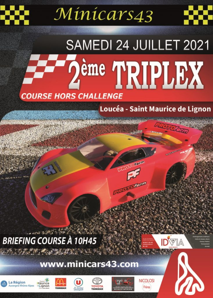 Affiche Triplex 2021