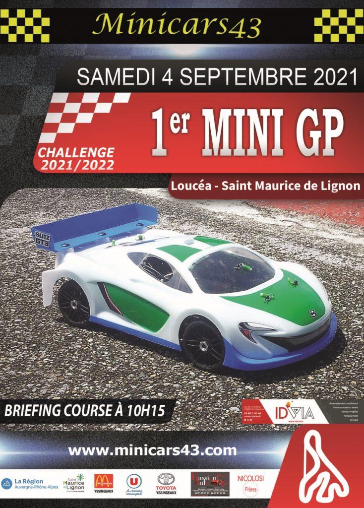 Affiche 1er Mini GP 2021-22